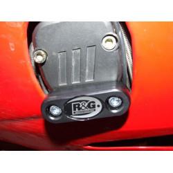 Slider moteur gauche R&G RACING noir Benelli Tornado 900 Tre/RS