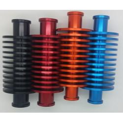 Refroidisseur Alu diamètre 22mm Noir Bleu Orange Rouge