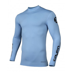 Maillot Seven Zero Blade Compression Blue XL