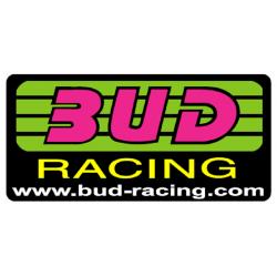 Autocollant camion BUD racing logo 70cm