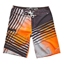 Boardshort Alpinestars Skydive Orange 36