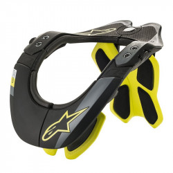 Neck Support Alpinestars BNS Tech-2 Noir Yellow fluo XS/M