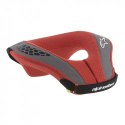 Tour de Cou Alpinestars Neck Sequence Youth Noir Rouge S/M