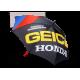 Parapluie Strike Umbrella 100% Geico/Honda Noir