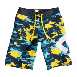 Boardshort enfant DC Lanai yellow pop army 12 ans-EDBBS03005-YJE1