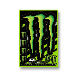 Planche stickers D'cor Monster Energy Claw
