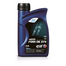 Huile de fourche ELF Moto Fork Syn 5W 0.5l