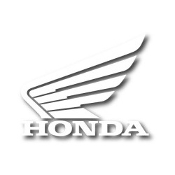 Die Cuts Sticker Packs Factory Effex Honda Wing Blanc (x3)