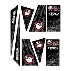 Kit stickers universel quad Metal Mulisha 13 Factory Effex
