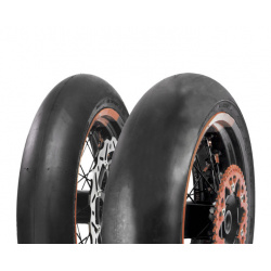 Pneu Supermotard Slick Golden Tyre GT250 avant 125/80R16.5