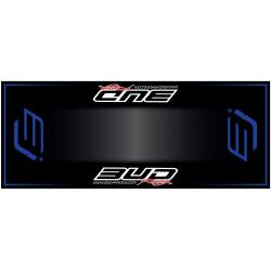 Tapis de sol HURLY Bud Racing blue 200x80cm