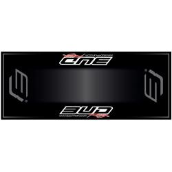 Tapis de sol HURLY Bud Racing grey 200x80cm