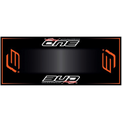 Tapis de sol HURLY Bud Racing orange 200x80cm