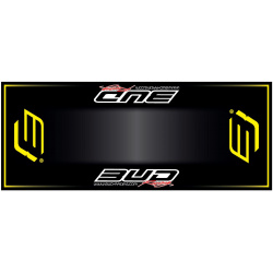 Tapis de sol HURLY Bud Racing yellow 200x80cm