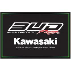 Tapis de sol HURLY Work Team Bud/Kawasaki 80x53cm