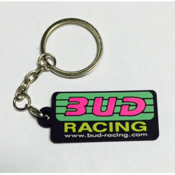 Porte clefs Bud Racing Logo