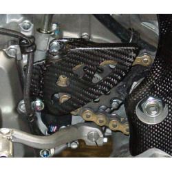 Protege pignon carbone RMZ 450 05/17 + 250 RMZ 10