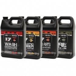 Bidon 3.8 litres Matrix 1.7 de lubrifiant montage pneu