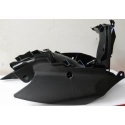 Boitier de filtre / plaques laterales KTM 250-350-450 11/12 Blanc
