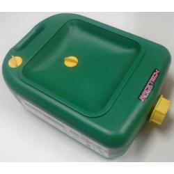 Reservoir de vidange Eco-Tank vert 12l avec entonnoir