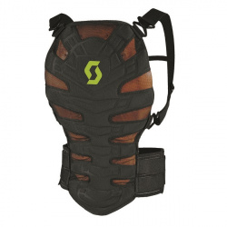 Dorsale Scott Soft CR Back Protector Noir Green M