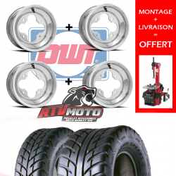 PACK SUPERQUADEUR LARGE DWT SPEARZ POUR QUAD YAMAHA 450 660 700 RAPTOR