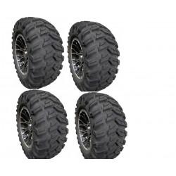 "Pack 4 pneus ORYX 14"" DRAGON"